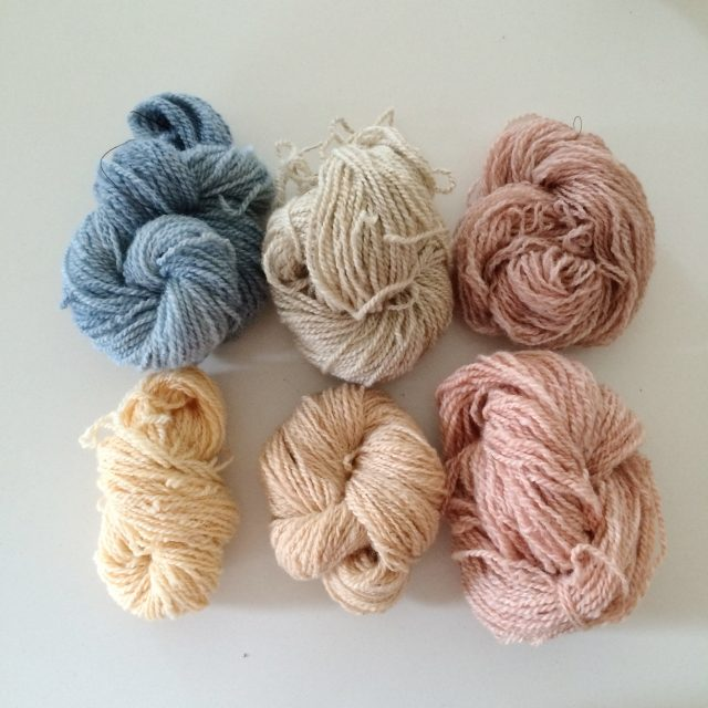 naturallydyed wool