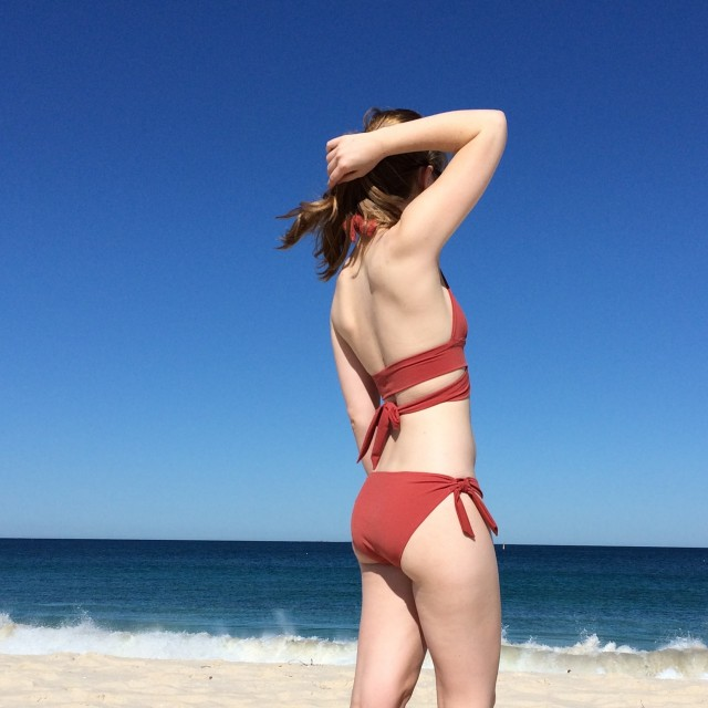 steel bikini Cassie